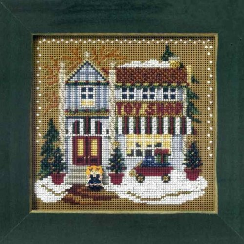 Free Counted Cross Stitch Charts (Toy Shop (beaded kit))