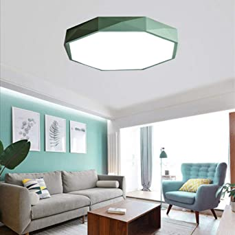Plafón Lámpara Techo 18W,LED Lámpara de Techo,Moderna LED Luz de ...