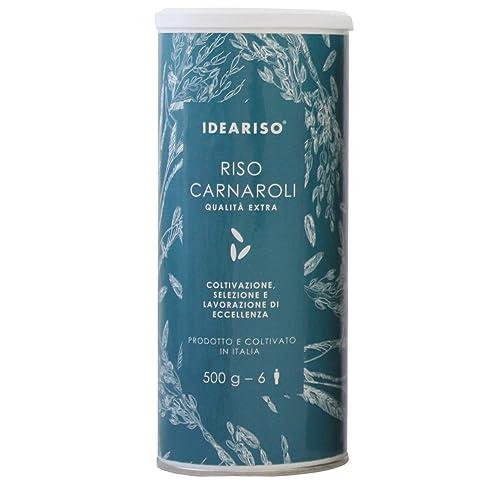 Italian Superfino Carnaroli rice 500 gr - 6 portions for risotto