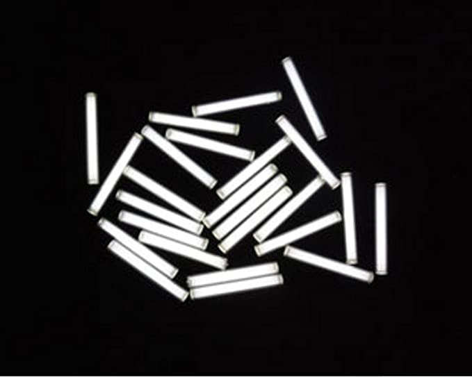 Hohe Qualit/ät 3x22.5mm Trit Vials Tritium Selbstleuchtende 15 Jahre