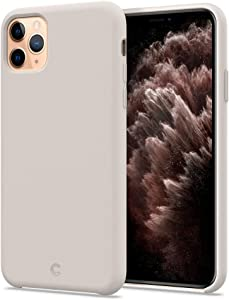 CYRILL Silicone Designed for Apple iPhone 11 Pro Max Case (2019) - Stone