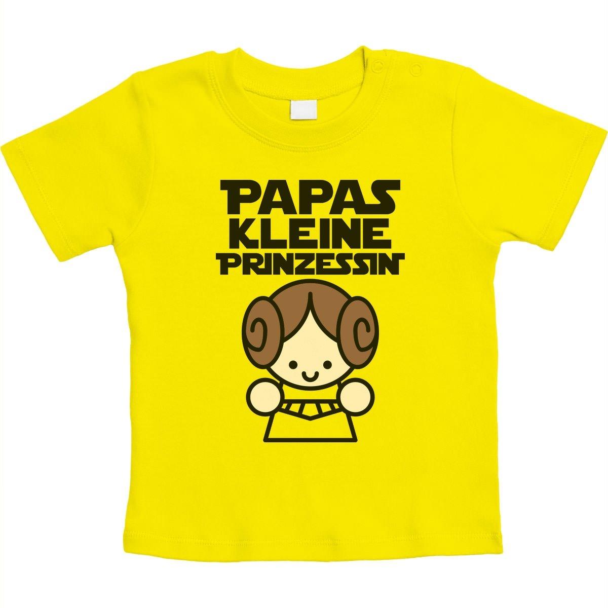 Geschenke f/ür V/äter Papas Kleine Prinzessin Unisex Baby T-Shirt Gr 66-93