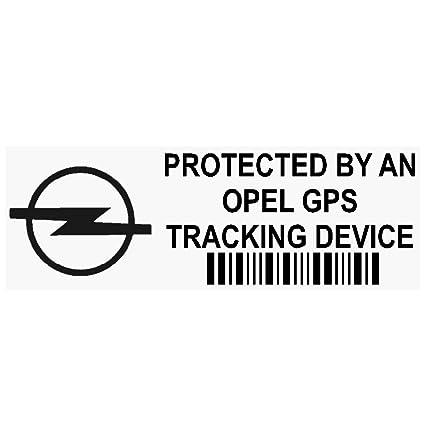 5 x ppopelgpsblk GPS negro dispositivo de seguimiento de seguridad ventana pegatinas 87 x 30 mm