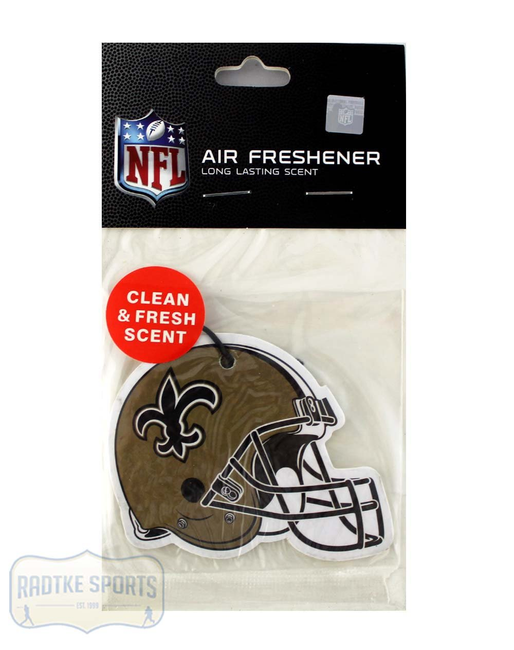 New Orleans Saints Officially Licensed Air Freshener Radtke Sports