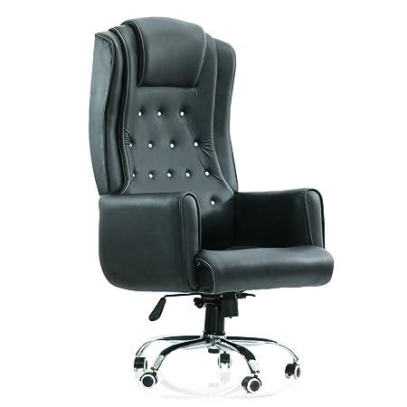 Green Soul Rome Revolving Maharaja Chair (Black)