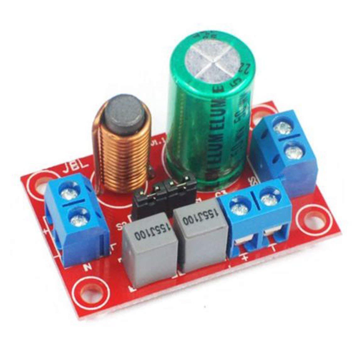 Einstellbare Treble Bass 2-Wege-Audio-Frequenzteiler-Lautsprecher-Crossover-Filter