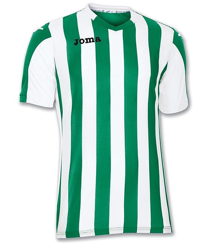 Joma Copa Camiseta de Equipación de Manga Corta, Hombre: Amazon.es: Deportes y aire libre