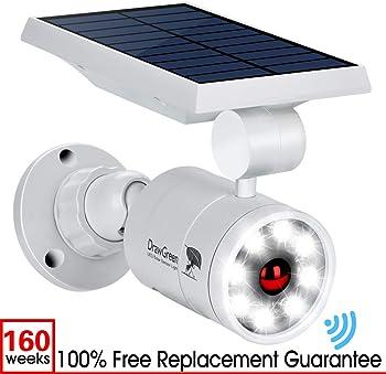 DrawGreen DG08-A Solar Outdoor 1400-Lumens LED 5W (110W Equiv.) Light