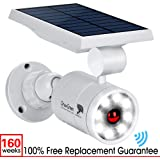 Solar Lights Outdoor Motion Sensor Aluminum,1400-Lumens Bright LED Spotlight 5W(110W Equiv.)DrawGreen Solar Lights Outdoor Wireless Security Lighting for Porch Patio Garden,Solar Powered Lights(White)