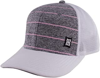 b7a8f8bb730 Bex Sunglasses Mens Jersey Grey Pink Stripe Cap OS White