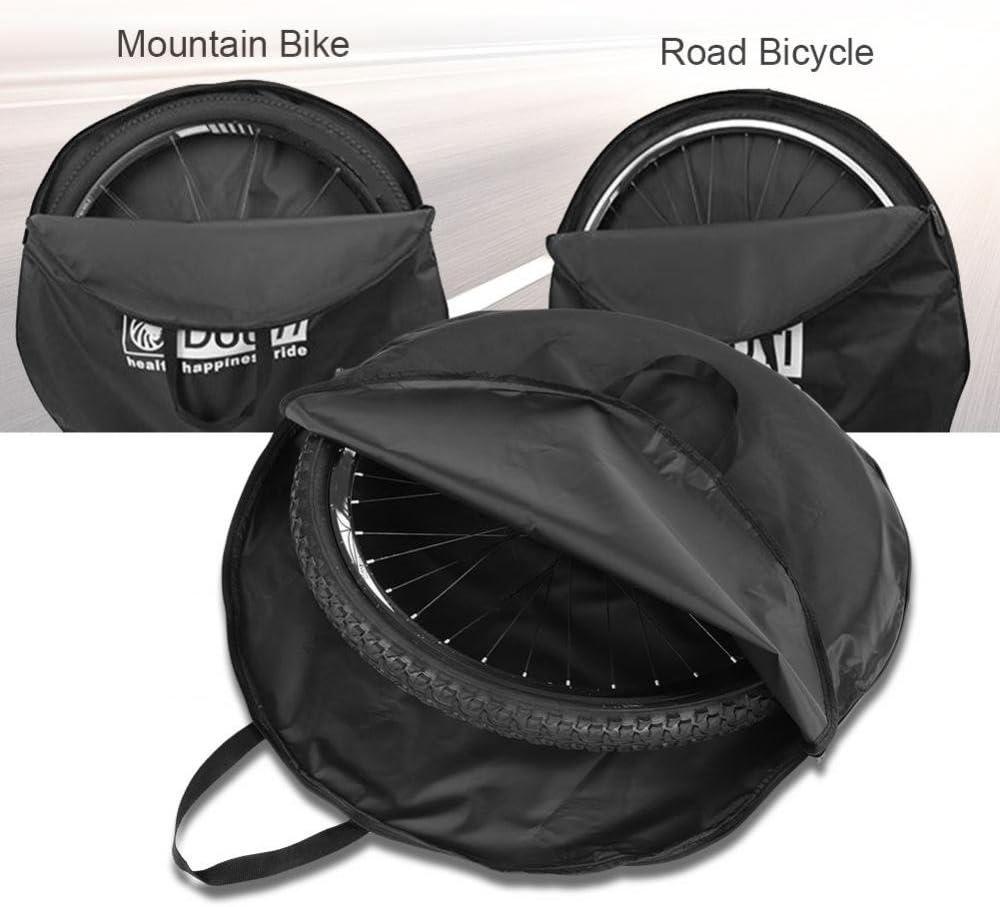 Almacenamiento Suave Bolsa de Transporte para Ruedas de Nailon Resistente Bolsa Protectora para Ruedas Ciclismo para Bicicleta de Monta/ña