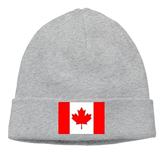 Unisex Flag Of Canadian Funny Beanie Cap Woolen Cap Smart Cap Fashion For  Outdoor   Home 57962c6cd14