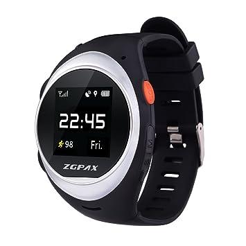 UniHappy ZGPAX X83 - Reloj de pulsera para teléfono inteligente MTK2503D WIFI GSM: Amazon.es: Electrónica