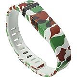 Audew Large Size Replacement Wristband Fitbit Flex Sport Wrist Band Clasp for Sport Bracelet No Tracker