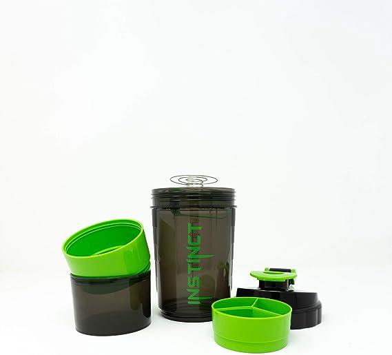 NK GLOBAL Shaker Botella Mezclador de proteína a Prueba de ...