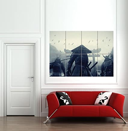 ASIAN WARRIORS SAMURAI JAPAN JAPANESE GIANT WALL ART PRINT PICTURE POSTER  B1125