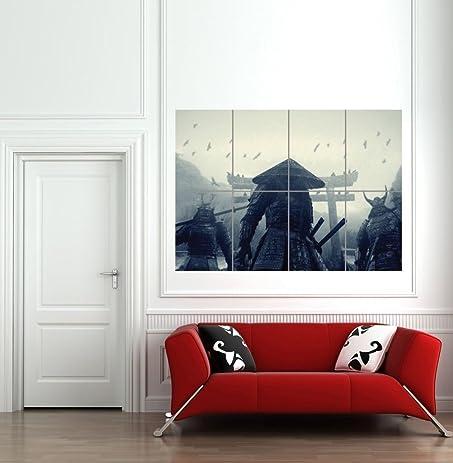 ASIAN WARRIORS SAMURAI JAPAN JAPANESE GIANT WALL ART PRINT PICTURE POSTER  B1125