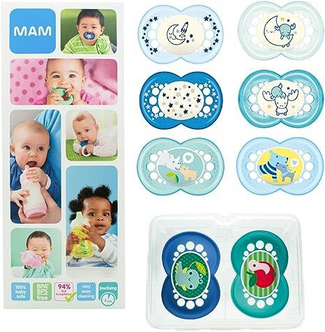 MAM Day & Night Soothing Set, juego de regalos para bebés de +6 ...