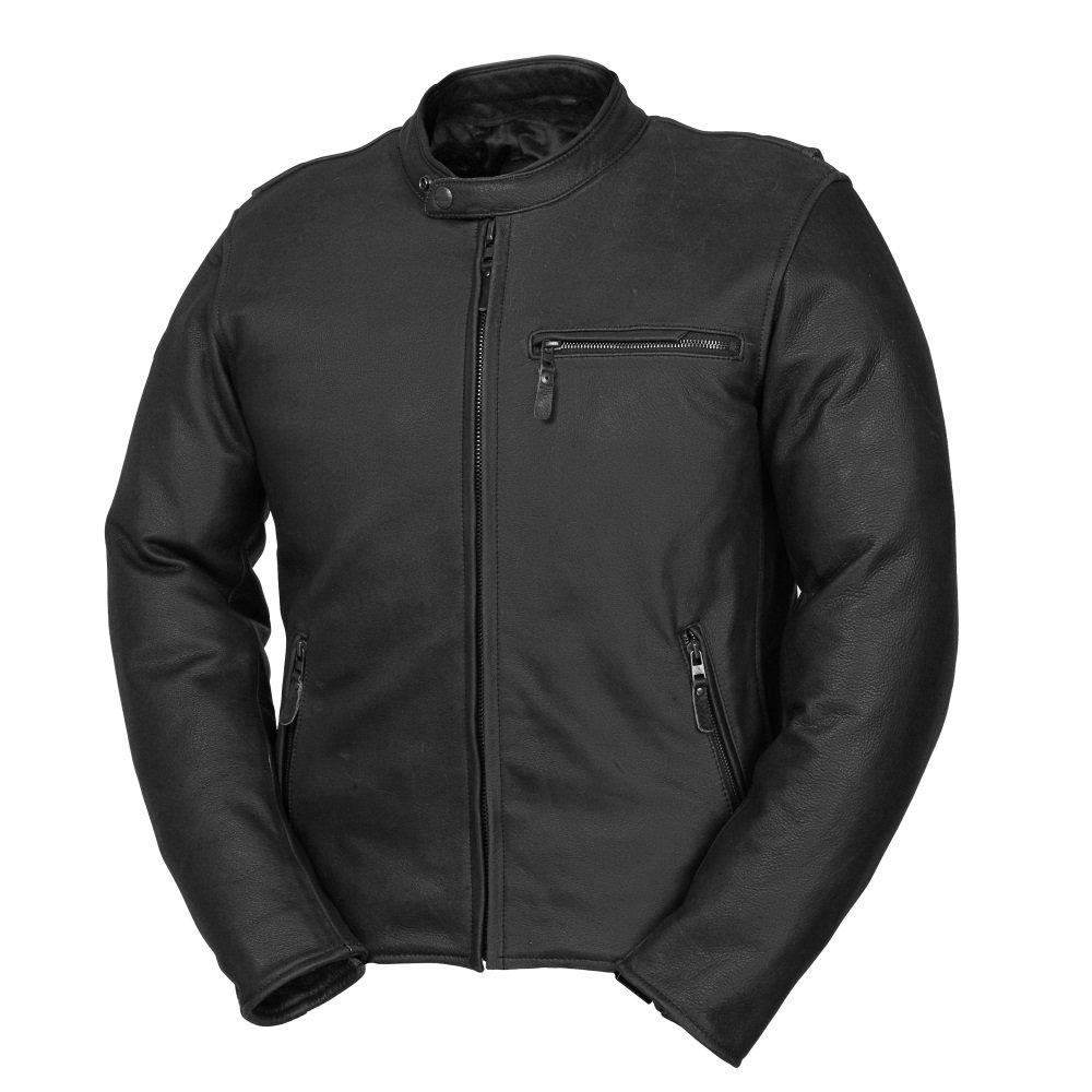Fieldsheer Unisex-Adult Deuce Leather Jacket Black 40