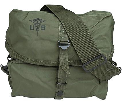 Mil-Tec US - Bolsa de transporte para kit médico con correa, diseño militar