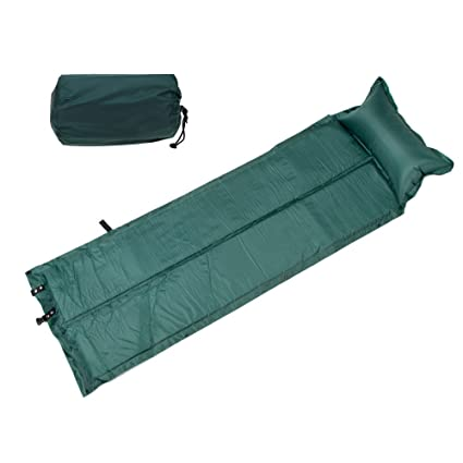 8da294d51bd Babrit Outdoor Waterproof Dampproof Sleeping Pad Tent Air Mat Mattress  Camping Mat Built-in Pillow
