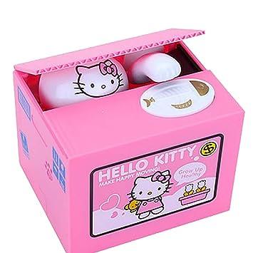 Kitty CoinAmazon Dinero Hello Y Piggy esJuguetes Caja De Bank 5uTFKJl1c3