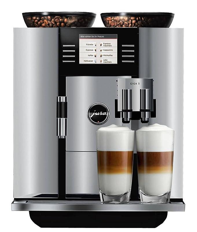 Amazon.com: Jura 13623 Giga 5 Automatic Coffee Machine, Aluminum ...