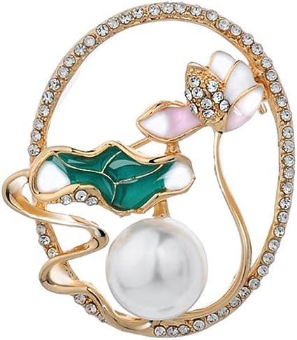 Lega Spilla Fiore Strass Brillanti Pins Abbigliamento Corpetto Accessori Di Moda Gioielli Per Le Donne Ragazze