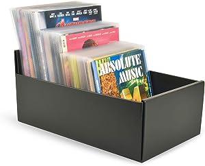 Tarifold Storage Box for DVD Storage, CD Storage, Blu-ray Storage and Xbox Video Games, Black (10290)