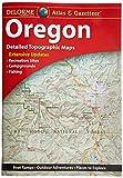 Garmin DeLorme Atlas & Gazetteer Paper Maps- Oregon Atlas & Gazetteer (010-12657-00)
