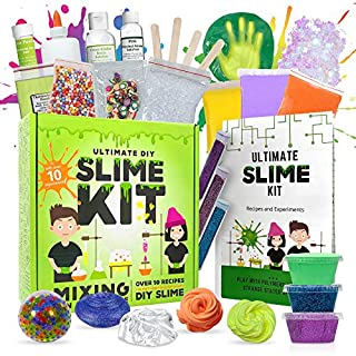 Baby Mushroom Ultimate Slime Kit - 10 Slimy Science Experiments | Fun and Educational Made in USA!