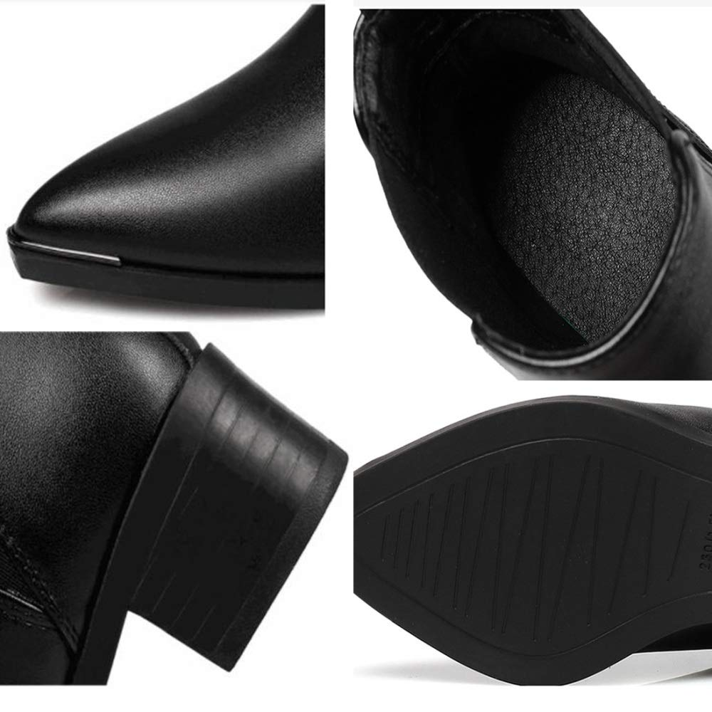 RSHENG RSHENG RSHENG Chelsea Damen Stiefel Plus SAMT Und Fashion Warm Casual Stiefel 35e97d