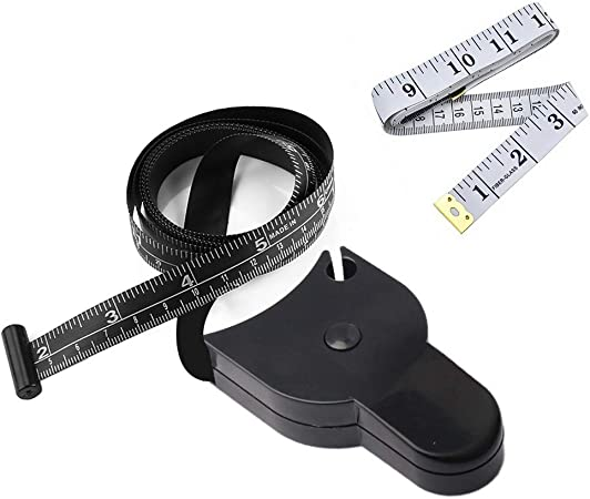 #1 Tape Measure 150cm//60inch Double Scale Soft Tape Measure with Colorful Shell Body Fitness Measuring Retractable Ruler for Sewing Body Tailor Fabric