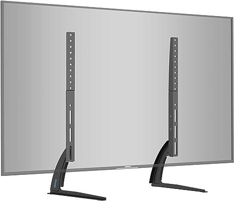 BONTEC Soporte TV de Pie Peanas para TV Patas TV 22-65 Pulgadas LED/LCD/Plasma/Curva/Plana, Soporte Pie Televisores Carga Máx. 50 kg: Amazon.es: Electrónica