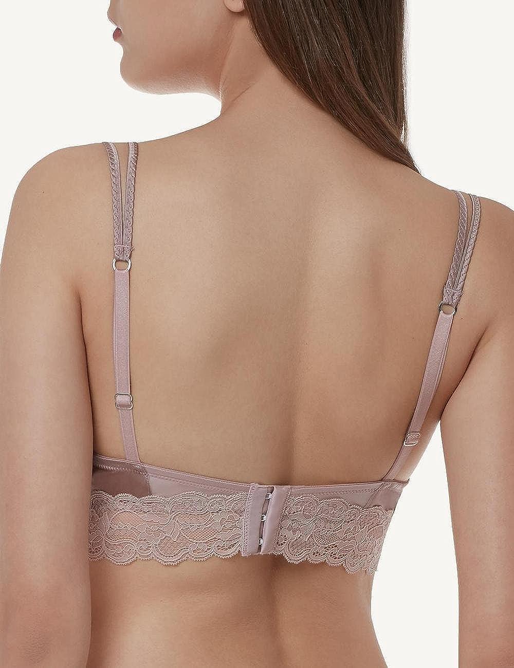 0848f3d538893 Intimissimi Womens Smooth Silk Silvia Push-Up Bra  Amazon.co.uk  Clothing