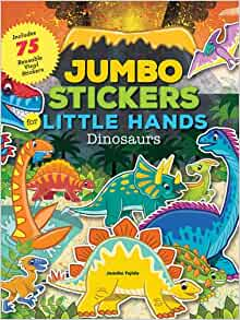 Jumbo Stickers for Little Hands: Dinosaurs: Jomike Tejido