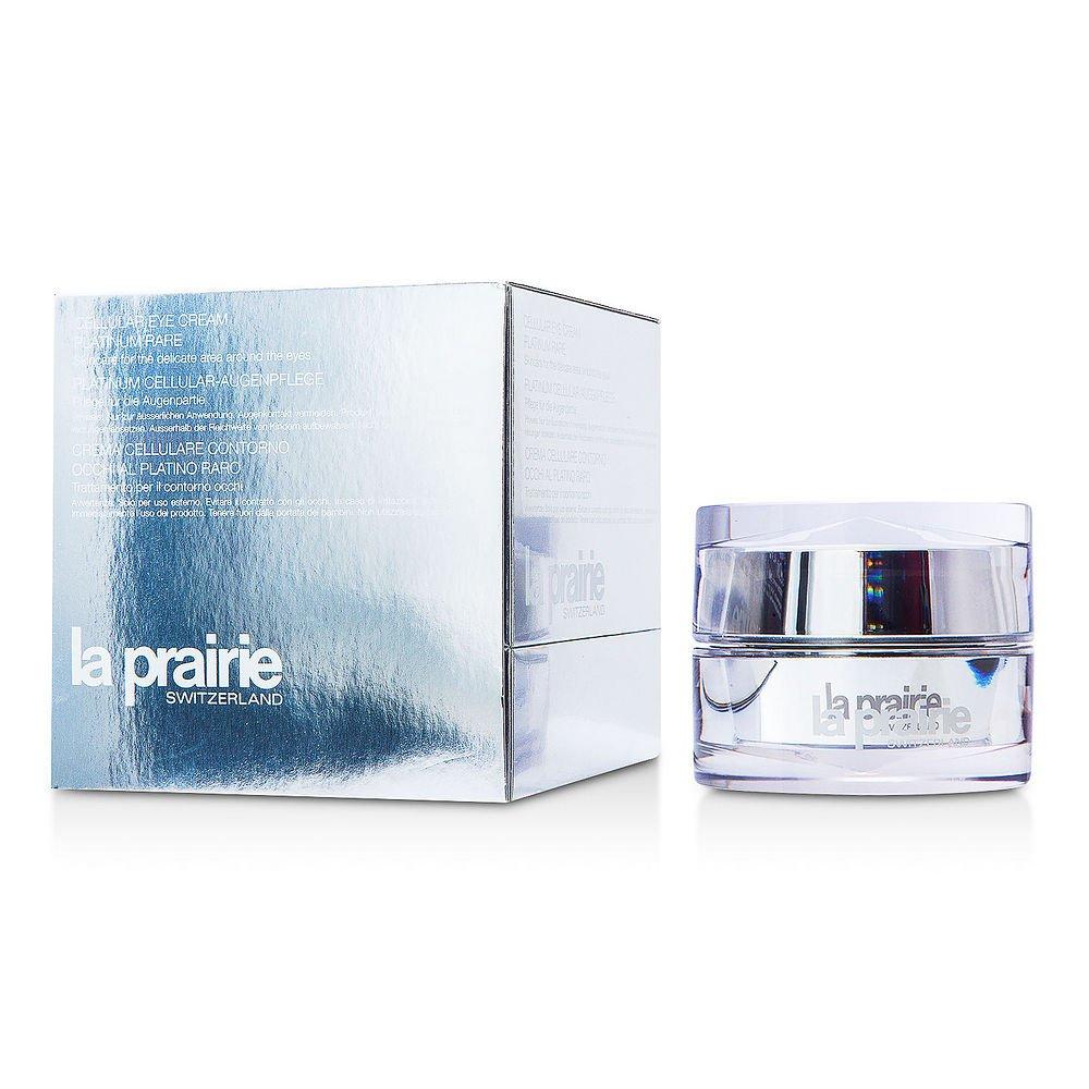 La Prairie by La Prairie Cellular Eye Cream Platinum Rare --20ml/0.68oz (Package of 2 )