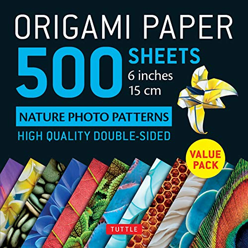 - Origami Paper 500 sheets Nature Photo Patterns 6