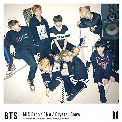 CD : BTS - Mic Drop / DNA / Crystal Snow: Type B (Japan - Import, 2 Disc)