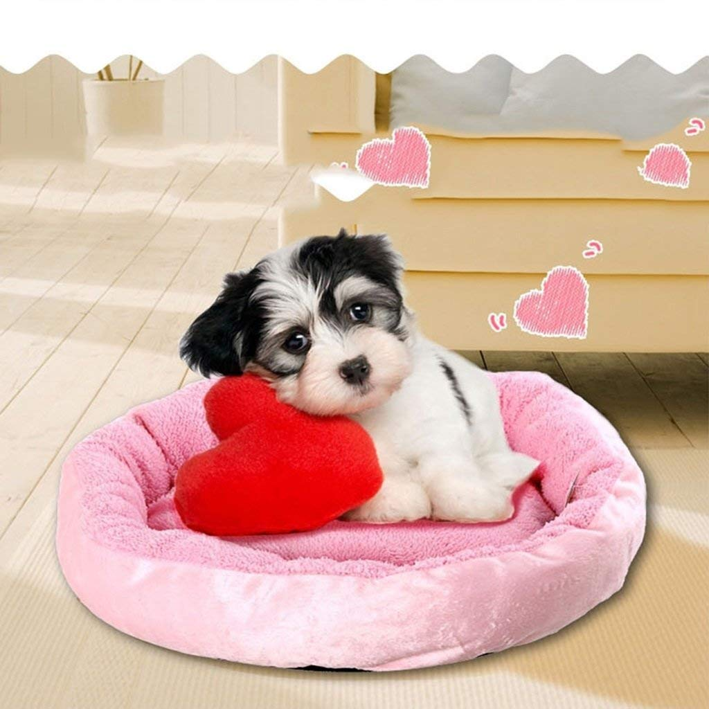 3 Small  3 Small HeiPlaine Pet Sofa Cat Litter Kennel Pet Dog House Mat Comfortable Soft Keep Warm Autumn And Winter (color    3, Size   Small)