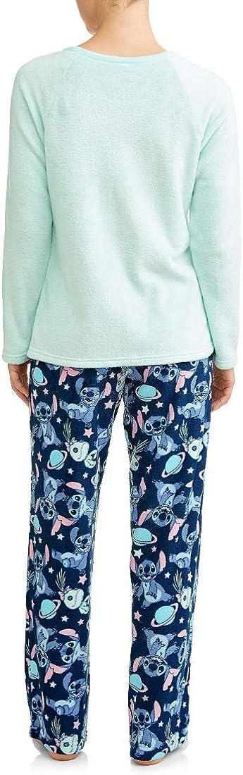 Amazon.com: Lilo y Stitch Super Minky - Juego de pajama para ...