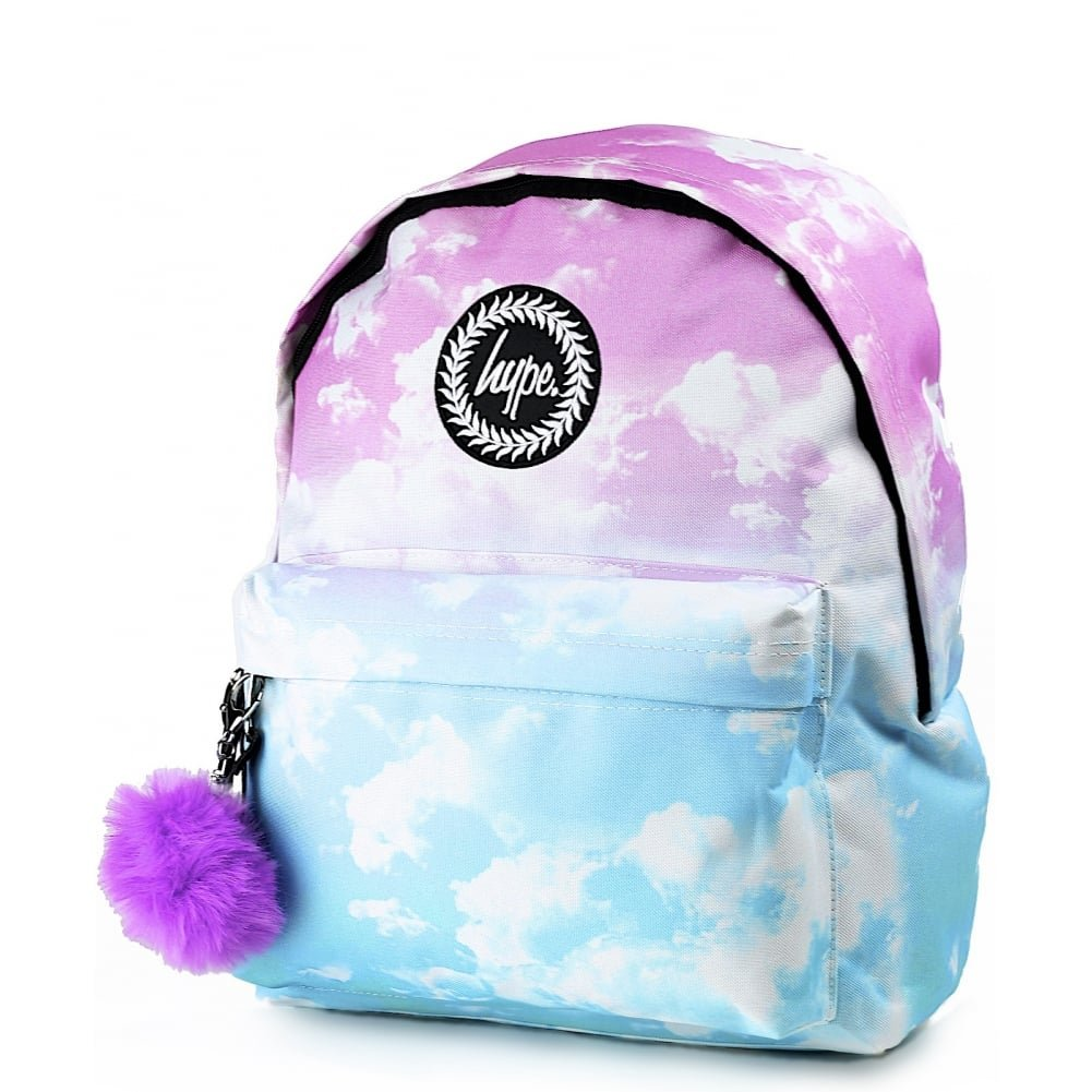 99a8bd38a45f Hype Pastel Clouds Backpack Multi Schoolbag SS-013 Hype Bags  Amazon.co.uk   Luggage