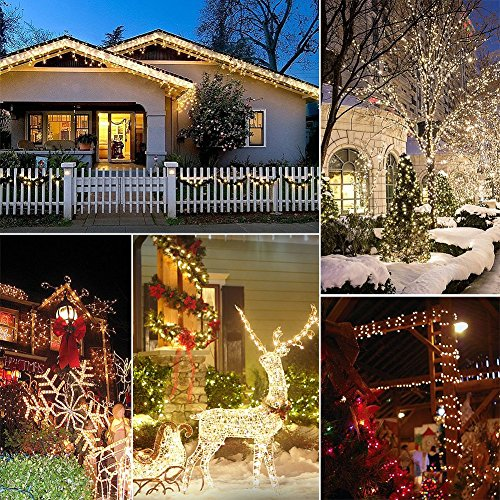 christmas lights amazlab t1w10 10 meter33feet soft copper wire xmas led string lights 100 led bulbs starry indoor outdoor decorations fairy lights dc