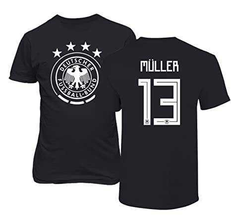 In Adidas Thomas Muller Germany Away Jersey World Cup 2018 Novel Design;