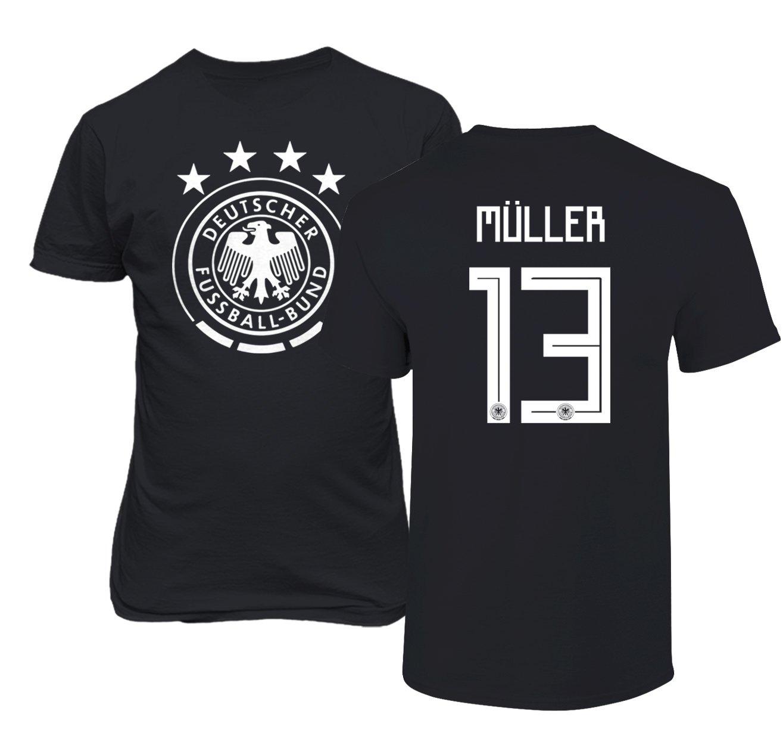 Tcamp Germany 2018 National Soccer #13 Thomas MULLER World Championship Men's T-Shirt