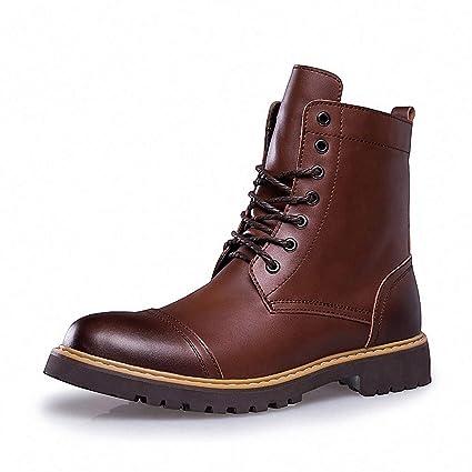 3ed5067b9f586 Amazon.com: Tebapi Mens Backpacking Boots Autumn Winter Genuine ...