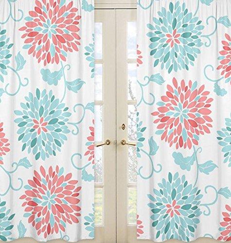 Sweet Jojo Designs 2-Piece Window Treatment Panels for Moder