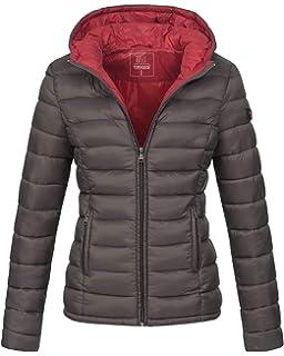 Marikoo Damen Jacke Steppjacke Herbst Winter Übergangsjacke gesteppt B651 9447589900