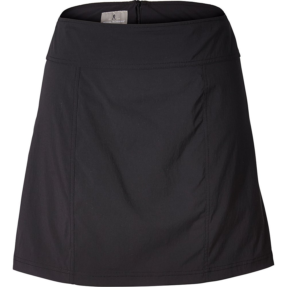 Royal Robbins Women's Discovery Iii Skort, Jet Black, Size 6 by Royal Robbins