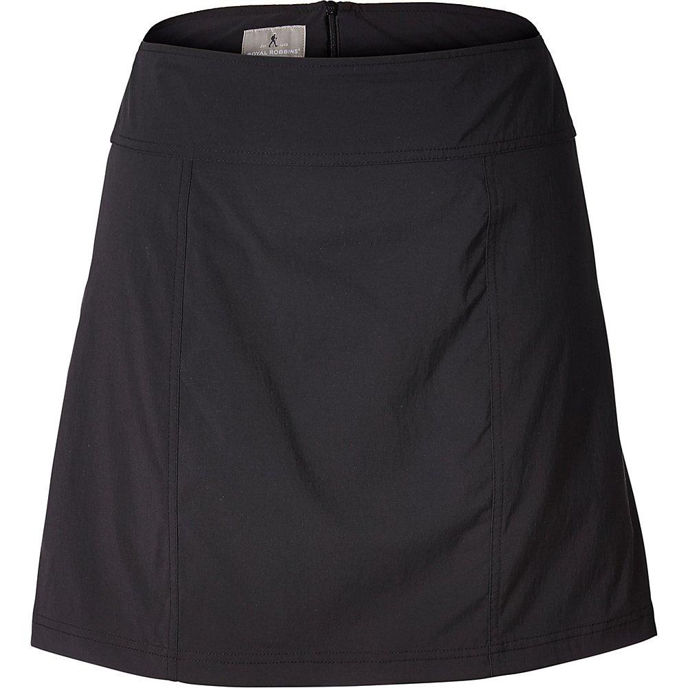 Royal Robbins Women's Discovery Iii Skort, Jet Black, Size 8